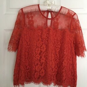 Tops - Lace top Size L